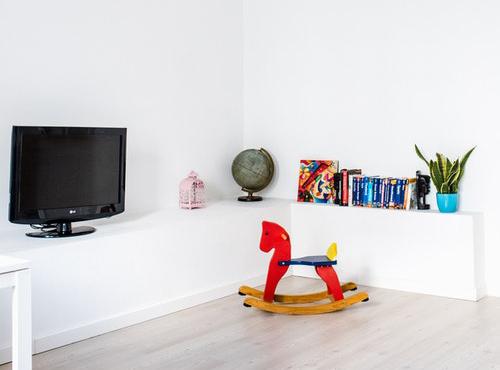 子供部屋にあるテレビ